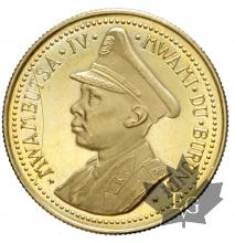 BURUNDI-1962-25 FRANCS-PROOF