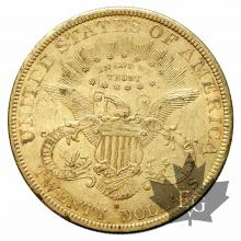 USA-20 DOLLARS-1879S-TTB-SUP