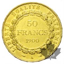 FRANCE-1900A-50 FRANCS-III REPUBLIQUE-TTB