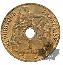 INDOCHINE-1897A-1 CENT-SUP