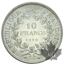 FRANCE-1970-10 FRANCS HERCULE-FDC