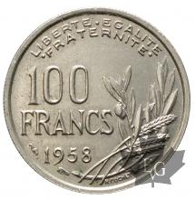 FRANCE-1958-100 FRANCS COCHET-SUP