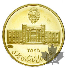IRAN-MÉDAILLE EN OR-1976-PROOF