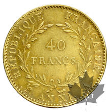FRANCE-ANXI A-40 FRANCS-Avec Olive-TRANCHE B-SUP