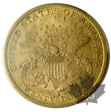 USA-1882S-20 Dollars-Liberty-PCGS AU50