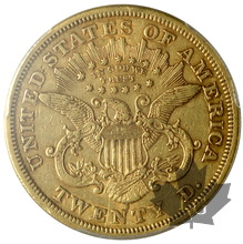 USA-1875S-20 Dollars-Liberty-PCGS XF45