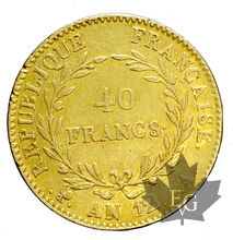 FRANCE-AN12-40 FRANCS-Tranche B-12 serré-date large-TTB