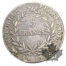 FRANCE-1804-5 Francs An 13M Empereur pr. TTB
