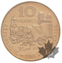 FRANCE-1985-10 FRANCS-VICTOR HUGO-ESSAI-FDC