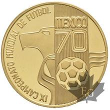 Mexique-1970-Médaille en or-Coupe Rimet-PROOF
