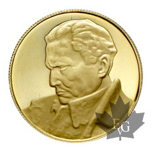 YUGOSLAVIE-Médaille en or-1973- TITO-PROOF-8g.