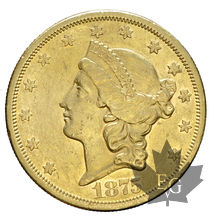 USA-1875S-20 DOLLARS LIBERTY HEAD-TTB