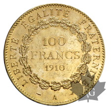 FRANCE-1910-100 FRANCS-III RÉPUBLIQUE-TTB-SUP