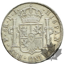 BOLIVIE-1817-8 REALES-SUP