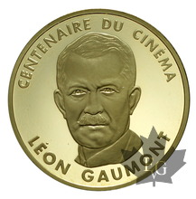 FRANCE-1995-100 FRANCS-LEON GAUMONT-CENTENAIRE DU CINEMA-PROOF