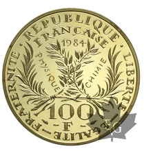 FRANCE-1984-100 FRANCS-Marie Curie-PROOF
