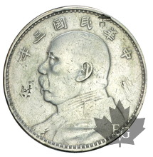 CHINE-DOLLAR-Year 3 (1914)-TTB