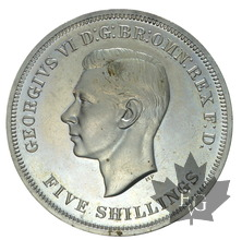 GRANDE BRETAGNE-1951-5 SHILLINGS -1 CROWN-PROOF-VIP