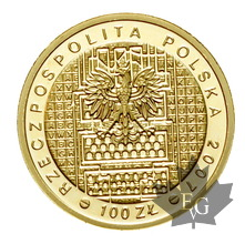 POLOGNE-2007-100 ZLOTYCH-Warsaw-PROOF