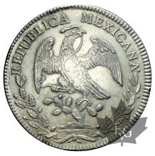 MEXIQUE-1836 MF-8 REALES-SUP