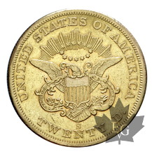 USA-1857S-20 Dollars-San Francisco-TTB