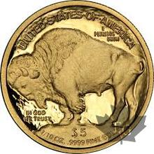 USA-2008 W-5 DOLLARS Buffalo-PCGS PROOF 69 DEEP CAMEO