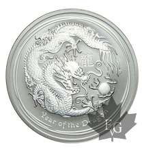 AUSTRALIE-2012-1 DOLLAR-PROOF-Year of the dragon