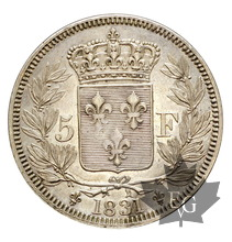 FRANCE-1831-5 FRANCS-HENRI V ROI DE FRANCE-SUP+