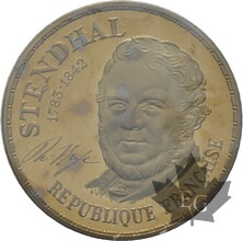 FRANCE-1983-10-FRANCS-STENDHAL-PIEFORT-FDC