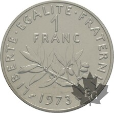 FRANCE-1973-1-FRANC-SEMEUSE-PIEFORT-FDC