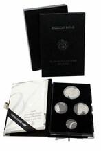 USA-2000-PROOF SET-AMERICAN-EAGLE-PLATINUM