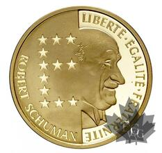 FRANCE-1986-10 FRANCS-Robert Schuman-PROOF