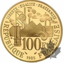 FRANCE-1985-100 FRANCS-GERMINAL-PROOF