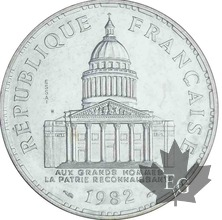 FRANCE-1982-100 FRANCS PANTHEON-ESSAI-FDC