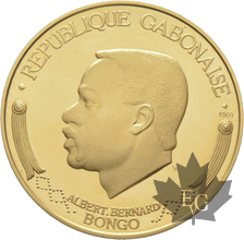 GABON-1969-10000-FRANCS-OR-PROOF