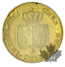 FRANCE-1786B-DOUBLE LOUIS D'OR-Louis XVI-PCGS MS61