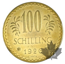 AUTRICHE-1926-100 SHILLING-PROOF LIKE