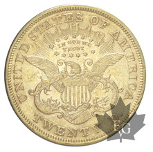 USA-1876-20 Dollars-Liberty-TTB-SUP