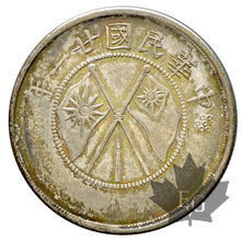 CHINE-1932-50 CENTS-YUNNAN-Superbe