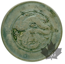 CHINA-1919-50 CENTS-YUNNAN-TTB