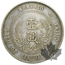 CHINE-DOLLAR-ND 1927-TTB+