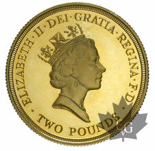 GRANDE BRETAGNE-1986-2 POUNDS-PROOF