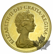GRANDE BRETAGNE-1981-5 POUNDS-PROOF