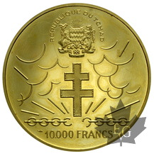 TCHAD-1960-10000 FRANCS-PROOF