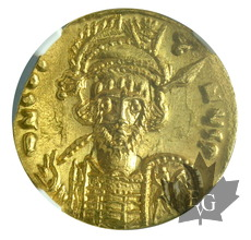 Byzantines-Constantine IV-Solidus-NGC MS
