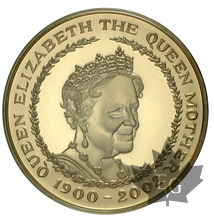 GRANDE BRETAGNE-2002-5 POUNDS-THE QUEEN MOTHER-PROOF