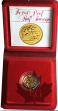 GRANDE BRETAGNE-1980-Half Sovereign-PROOF