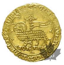 FRANCE-Jean Le Bon-MOUTON D'OR 1355-presque Superbe