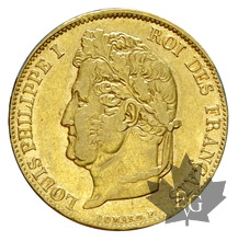 FRANCE-1835W-20 FRANCS-LOUIS PHILIPPE-TTB-SUP
