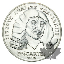 FRANCE-1991-ESSAI DE 100 FRANCS DESCARTES-FDC